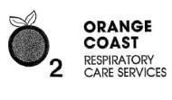Orange Coast Repiratory Care Services